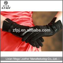 China-Großhandelsqualitäts-arbeitende lederne Handschuhe