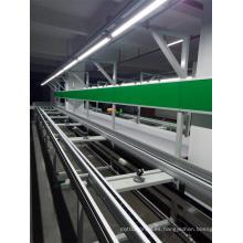 Línea transportadora de cadena de doble velocidad de alta calidad