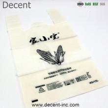 En13432 Corn Starch Based Wholesale Biodegradable 100% Compostable Shopping Bags/ Trash Bags