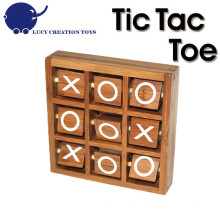 Bamboo Spinning Tic Tac Toe Spiel