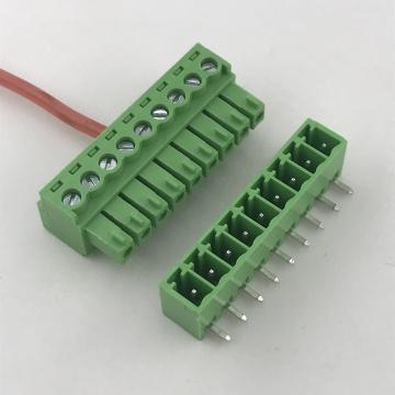 9-poliger 9-poliger Klemmenblock mit 3,5 mm Abstand