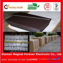 Imán de goma flexible material de la venta caliente de China
