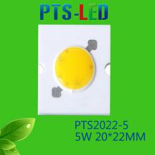 5W/7W AC COB LED haute qualité 110V 220V