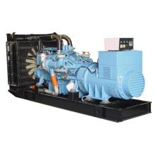 50hz 2000kw generator price 2500kva MTU electric power generator set price