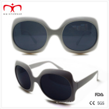 Ladies Plastic Sunglasses with Big Square Frame (WSP508243)