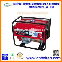 BT6500 5.0KW 5.0KVA 13HP 100% Groupe électrogène électrique à essence à fil à cuivre