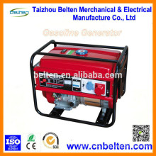 Popular Three Phase 5000W Copper Wire 13HP Gasoline Generator With Handles And Wheels in South Africa