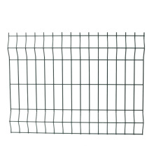Galvanized and PVC Coated Decorative Steel Wire Fence for Outdoor Protection and Decoration