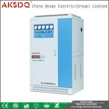 Venta caliente completa Cpooer trifásico SBW compensado automático estabilizador / WenZhou de voltaje de la CA de la energía China