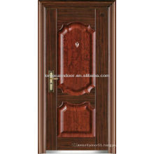Factory Price Single Swing Stainless Steel Doors, Entry Steel Security Doors with Latest Design