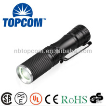 Powerful led rechargeable mini led flashlight