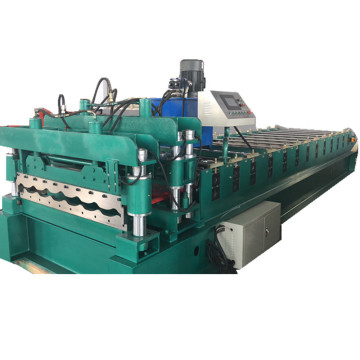 Για τη Σερβία Glazed Steel Tiling Making Machine
