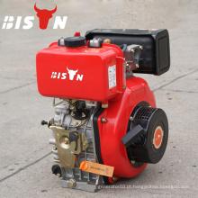 BISON China Taizhou Ar Cooled 4 Stroke Preço barato 10hp Diesel Engine 186FE
