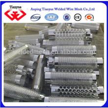 Hoja de metal perforada SS302 / 304 / 316L