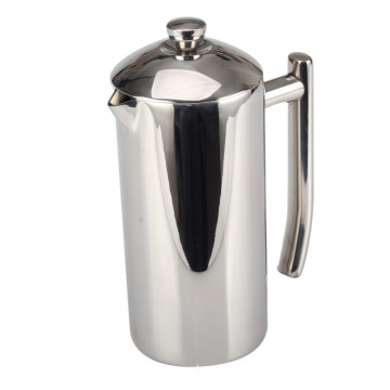 French Press Kaffeemaschine mit Edelstahlgitter