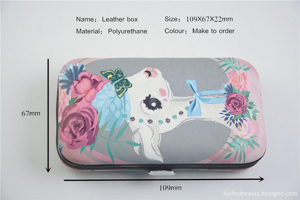 Leather Box Design