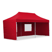 Red color aluminum gazebo canopy tent 3x6