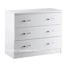 Gabinete de caixa de armazenamento de gaveta de 3 quartos com qualidade premium (HC31)
