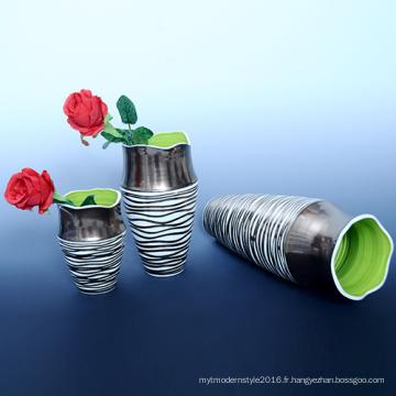 Bateau à fleurs en céramique à cadeau bon marché à bas prix (B131)
