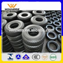 Neumático de goma de la carretilla 2.50-4 con el patrón del estirón
