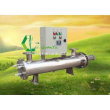 304SS Самоочищающийся ультрафиолетовый фильтр для медицинских аппаратов с рыбным резервуаром
