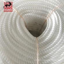 Three strand high quality nylon rope for marine mooring anchoring