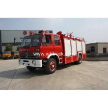 Dongfeng 6ton Τύπος νερού Πυροσβεστική εσωτερική δεξαμενή