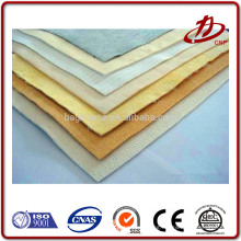 Air filter cloth for dust collector bag made by different kinds of material