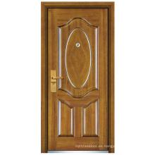 Puerta de madera de acero (FXGM-C320)