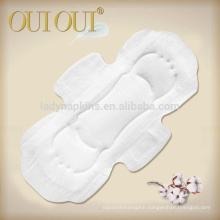 Disposable OEM extra care us sanitary napkin with negative ion