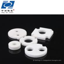 Disque en céramique d'alumine à haute résistance pour valve