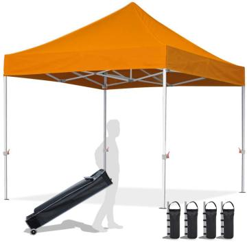 Tenda per gazebo pop-up in metallo resistente 10x10