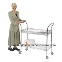 Panier de service réglable en métal / chariot utilitaire pour hôpital (TR904590A2CW)