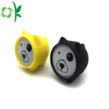 Leuke Cat Drop Resistance Silicone Mini Speaker Case