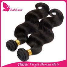 Wholesale 100% Virgin Unprocessed Remy Human Body Wave Thailand Hair Extensions