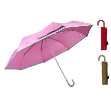 Guarda-chuva leve de alumínio compato da cópia tranqüila (YS-3FM21083945R)
