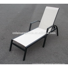 2018 new design outdoor aluminium sunbed