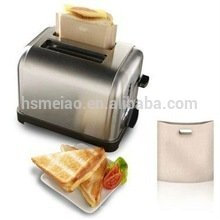 Sac de grille-pain en téflon pour le chauffage au pain et au sandwich