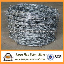 Arame farpado galvanizado pesado (fabricante da China)