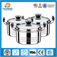 durable stainless steel industrial cooking pot