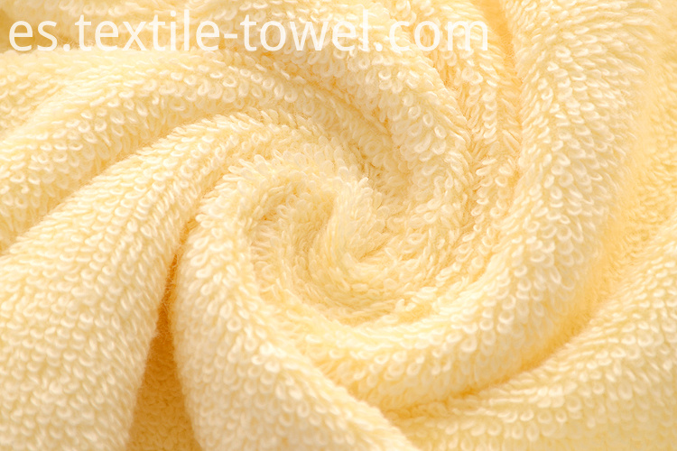 Yellow Bath Towels