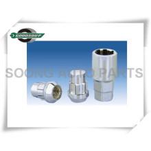 Plastikkasten-Verpackung Schutz-Rad-Verschluss-Nüsse Schutz-Rad-Verschluss-Bolzen-Rad-Netz-Verschlüsse