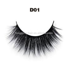 Handmade 3D eyelash synthetic eye lashes silk eyelash