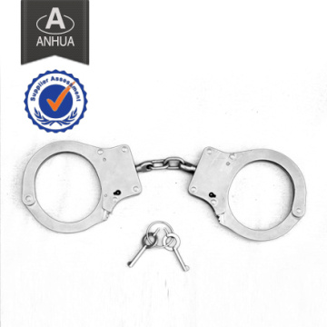Military Police Double Locking Metal Handcuff