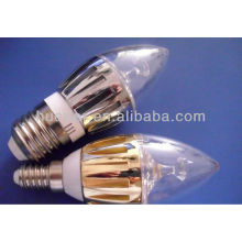 Warm white miniature lamp bulb E14 led candel light