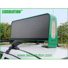 Ledsolution Full Color P5 Taxi Top Display LED com faces duplas
