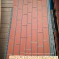Изолированные декоративные кирпичные стеновые панели