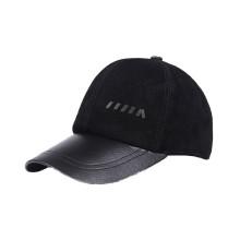 Gorra de béisbol sin cordones de cuero