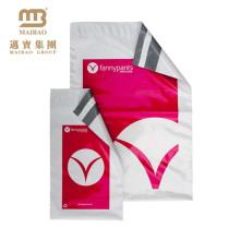 O logotipo feito sob encomenda do vestuário do selo adesivo da segurança biodegradável da fábrica que empacota o logotipo personalizado Imprimiu Polybags de alta qualidade plásticos do PE