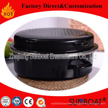 Sunboat Enamel Roaster/Enamel Baking Pan Kitchenware/ Kitchen Appliance